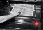 Image of Bureau of Engraving and Printing Washington DC USA, 1948, second 51 stock footage video 65675032336
