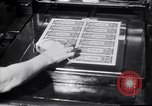 Image of Bureau of Engraving and Printing Washington DC USA, 1948, second 58 stock footage video 65675032336