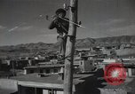 Image of new hydroelectric station Aoul Dagestan Russia, 1948, second 58 stock footage video 65675032340