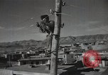 Image of new hydroelectric station Aoul Dagestan Russia, 1948, second 61 stock footage video 65675032340