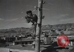 Image of new hydroelectric station Aoul Dagestan Russia, 1948, second 62 stock footage video 65675032340
