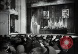 Image of lady addressing election gathering Russia, 1947, second 10 stock footage video 65675032345