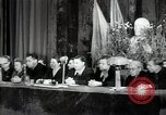 Image of lady addressing election gathering Russia, 1947, second 11 stock footage video 65675032345