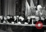 Image of lady addressing election gathering Russia, 1947, second 14 stock footage video 65675032345