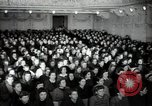 Image of lady addressing election gathering Russia, 1947, second 17 stock footage video 65675032345