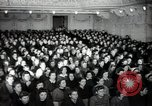 Image of lady addressing election gathering Russia, 1947, second 19 stock footage video 65675032345