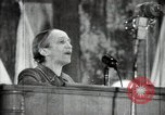 Image of lady addressing election gathering Russia, 1947, second 21 stock footage video 65675032345