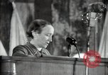 Image of lady addressing election gathering Russia, 1947, second 22 stock footage video 65675032345