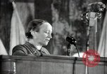 Image of lady addressing election gathering Russia, 1947, second 23 stock footage video 65675032345