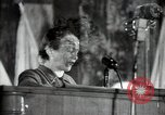 Image of lady addressing election gathering Russia, 1947, second 24 stock footage video 65675032345