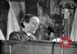 Image of lady addressing election gathering Russia, 1947, second 26 stock footage video 65675032345