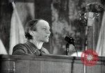 Image of lady addressing election gathering Russia, 1947, second 28 stock footage video 65675032345