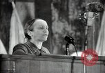 Image of lady addressing election gathering Russia, 1947, second 31 stock footage video 65675032345