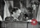 Image of lady addressing election gathering Russia, 1947, second 33 stock footage video 65675032345