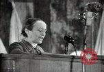 Image of lady addressing election gathering Russia, 1947, second 36 stock footage video 65675032345