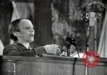Image of lady addressing election gathering Russia, 1947, second 37 stock footage video 65675032345