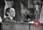 Image of lady addressing election gathering Russia, 1947, second 38 stock footage video 65675032345