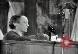 Image of lady addressing election gathering Russia, 1947, second 40 stock footage video 65675032345