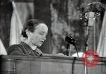 Image of lady addressing election gathering Russia, 1947, second 42 stock footage video 65675032345