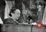 Image of lady addressing election gathering Russia, 1947, second 43 stock footage video 65675032345