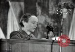 Image of lady addressing election gathering Russia, 1947, second 44 stock footage video 65675032345