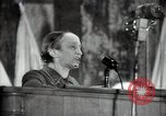 Image of lady addressing election gathering Russia, 1947, second 45 stock footage video 65675032345