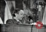 Image of lady addressing election gathering Russia, 1947, second 46 stock footage video 65675032345