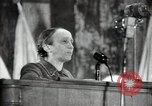 Image of lady addressing election gathering Russia, 1947, second 47 stock footage video 65675032345