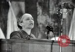 Image of lady addressing election gathering Russia, 1947, second 48 stock footage video 65675032345