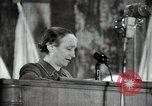 Image of lady addressing election gathering Russia, 1947, second 49 stock footage video 65675032345