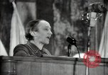 Image of lady addressing election gathering Russia, 1947, second 50 stock footage video 65675032345