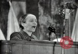 Image of lady addressing election gathering Russia, 1947, second 51 stock footage video 65675032345