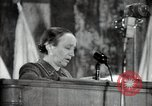 Image of lady addressing election gathering Russia, 1947, second 52 stock footage video 65675032345