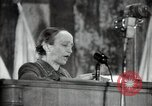 Image of lady addressing election gathering Russia, 1947, second 54 stock footage video 65675032345