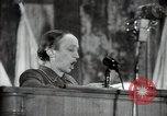 Image of lady addressing election gathering Russia, 1947, second 60 stock footage video 65675032345