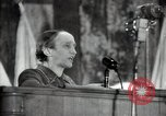 Image of lady addressing election gathering Russia, 1947, second 61 stock footage video 65675032345