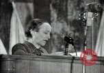 Image of lady addressing election gathering Russia, 1947, second 62 stock footage video 65675032345