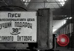 Image of manufacturing plant and farmers Russia, 1947, second 10 stock footage video 65675032346