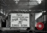 Image of manufacturing plant and farmers Russia, 1947, second 14 stock footage video 65675032346