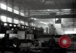 Image of manufacturing plant and farmers Russia, 1947, second 28 stock footage video 65675032346
