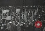 Image of peace meeting Budapest Hungary, 1948, second 53 stock footage video 65675032365