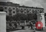 Image of citizens up-keeping the village Podolsk Russia, 1949, second 28 stock footage video 65675032370