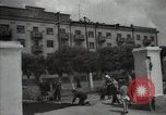 Image of citizens up-keeping the village Podolsk Russia, 1949, second 29 stock footage video 65675032370