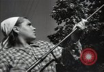 Image of citizens up-keeping the village Podolsk Russia, 1949, second 45 stock footage video 65675032370