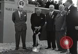 Image of Harry S Truman at Wake Forest College ground breaking ceremony Winston-Salem North Carolina USA, 1951, second 19 stock footage video 65675032376