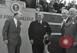 Image of Harry S Truman at Wake Forest College ground breaking ceremony Winston-Salem North Carolina USA, 1951, second 31 stock footage video 65675032376