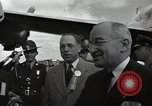 Image of Harry S Truman at Wake Forest College ground breaking ceremony Winston-Salem North Carolina USA, 1951, second 62 stock footage video 65675032376