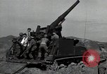 Image of US 24th Infantry soldiers firing from tank United States USA, 1947, second 7 stock footage video 65675032380
