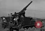 Image of US 24th Infantry soldiers firing from tank United States USA, 1947, second 8 stock footage video 65675032380