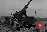Image of US 24th Infantry soldiers firing from tank United States USA, 1947, second 11 stock footage video 65675032380